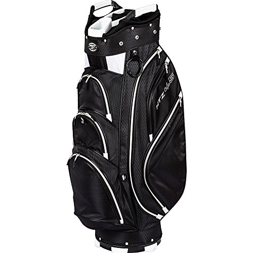 HotZ Golf 45 Cart Bag Black White