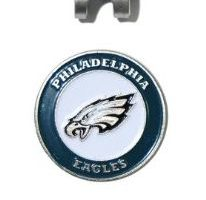 NFL Philadelphia Eagles Cap Clip With 2 Golf Ball Markers