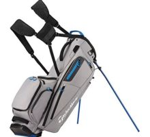 TaylorMade Flextech Golf Bag Gray Royal