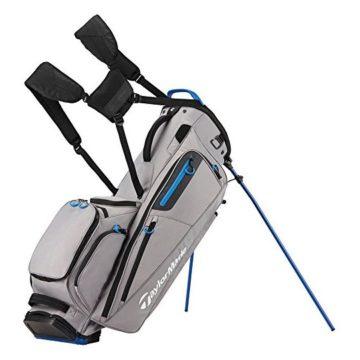 TaylorMade Flextech Golf Bag Gray Royal