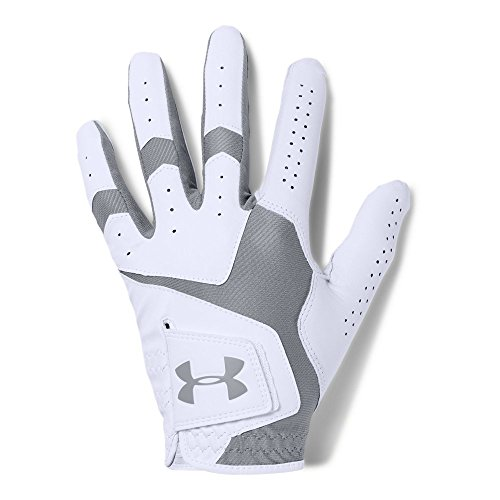 Under Armour Men CoolSwitch Golf Glove White Steel Left Hand XLarge Cadet