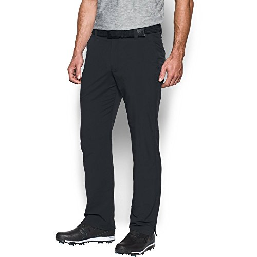 Under Armour Men Match Play Golf Pants Black Black 32 30