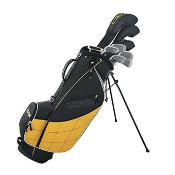 Wilson Golf WGGC4300L Men 2017 Ultra Package Set Left Hand Black