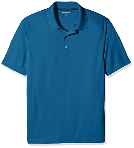Amazon Essentials Men RegularFit QuickDry Golf Polo Shirt Deep Teal XXLarge