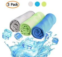 Cooling Towel 3 PACK Cooling Towels for Sports Fitness Yoga Pilates Gym Golf Hiking Biking and More 40 x 12 inch