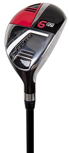 Pinemeadow Golf Men Excel EGI Hybrid Club Graphite 28Degree 6 Regular Right Hand