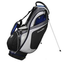 Powerbilt TPS Dunes 14Way Black Blue Stand Golf Bag