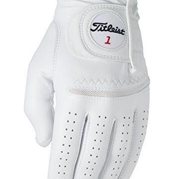Titleist Perma Soft Golf Glove Mens Reg LH Pearl White(Medium Worn on Left Hand)