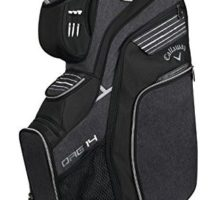 Callaway Golf 2018 Org 14 Cart Bag Black  Silver  White