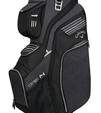 Callaway Golf 2018 Org 14 Cart Bag Black  Silver  White