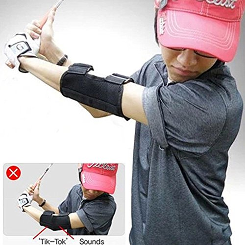 Golf Training Aid Swing Straight Practice Golf Elbow Brace Corrector Support Arc Golf Equipment