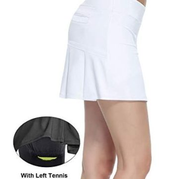 HonourTraining Women Workout Active Skorts Sports Tennis Golf Skirt With BuiltIn Shorts size m
