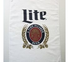 Miller Lite Golf Towel