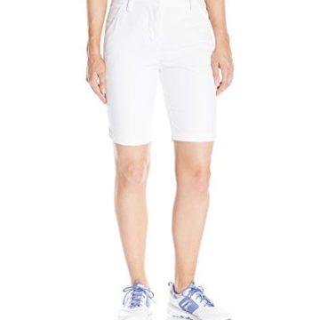 Puma Golf 2017 Women Pounce Bermuda Short Bright White Size 8