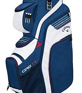 Callaway Golf 2018 Org 14 Cart Bag Navy  Red  White