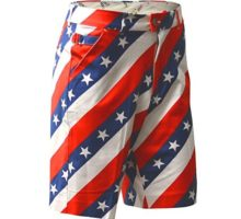Royal & Awesome Men Golf Shorts Pars Stripes 34″ Waist86 cm
