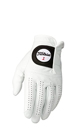Titleist Players Mens Cadet LH Pearl White(Medium Worn on Left Hand)