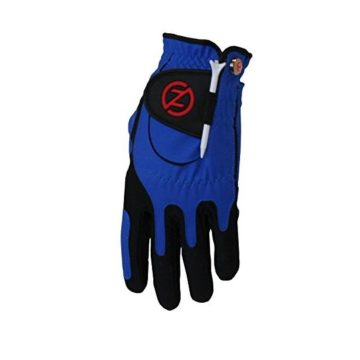 Zero Friction Performance Men Golf Glove Left Hand Blue ZFACGOGLOVMBL