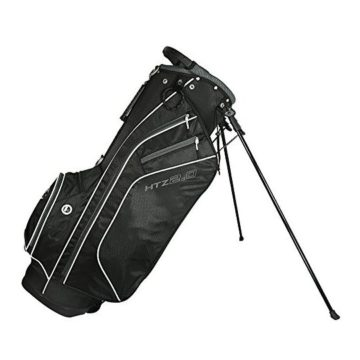 HotZ 2017 Golf 20 Stand Bag Black White