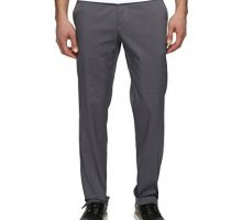 NIKE Men Flat Front Golf Pants Dark Grey Dark Grey Size 36 30