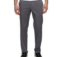 NIKE Men Flat Front Golf Pants Dark Grey Dark Grey Size 36 30