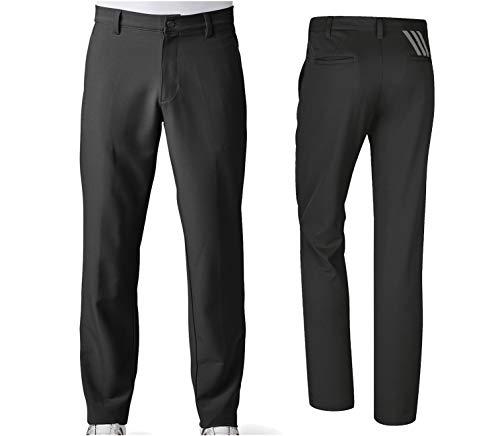 adidas Golf Men Adi Ultimate 3 Stripe Pants Black Size 34 30