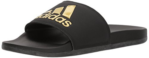 adidas Women Adilette Comfort dust Pink White Grey 11 M US