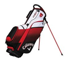 Callaway Golf 2018 Chev Stand Bag Black  Red  White