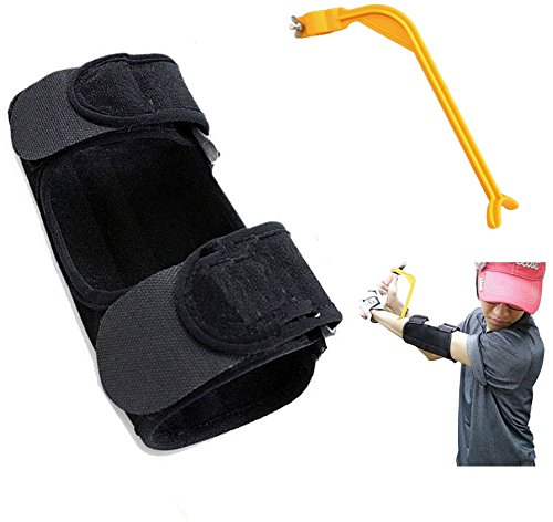 Golf Training Aid Swing Straight Practice Elbow Brace Corrector Support Arc Swing Trainers Golf Accessories