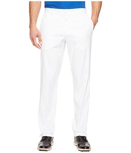 NIKE Men Flat Front Golf Pants White White Size 32 32