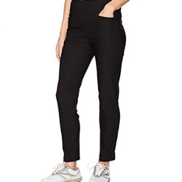 PGA TOUR Women Motionflux Pull On Pants Caviar L