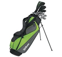 Wilson Men HyperSpeed Complete Standard Golf Club Set & Bag WGGC47310