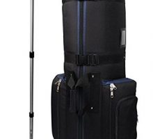 CaddyDaddy Golf CDYCON2NP Constrictor with North Pole Club Protector Golf Bag Travel Cover Black Navy