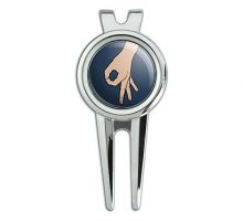 GRAPHICS & MORE The Circle Game Golf Divot Repair Tool and Ball Marker