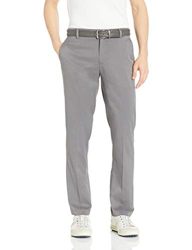 Amazon Essentials Men Standard StraightFit Stretch Golf Pant Gray 34W x 33L
