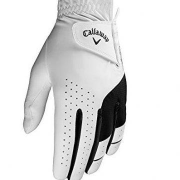 Callaway Golf Men Weather Spann Premium Japanese Synthetic Golf Glove Worn on Left Hand XLarge