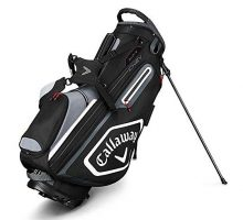 Callaway Golf 2019 Chev Stand Bag Black Titanium White