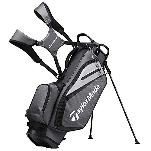 TaylorMade 2019 Golf Select Stand Bag Gray Black