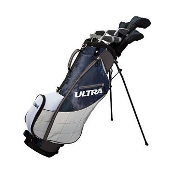 Wilson Golf Ultra Men 9Club RightHanded Set w Bag and Covers Deepwater