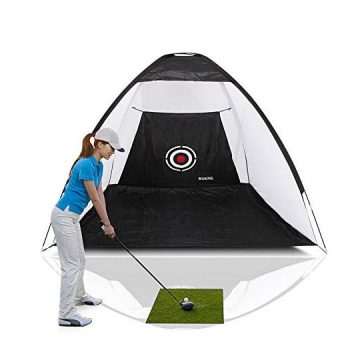 WUKING Golf Net  for Backyard Practice Chipping Driving Hitting Balls HeavyDuty Target for Testing Range Swing and Clubs Beginner Professional Golfing Accessories