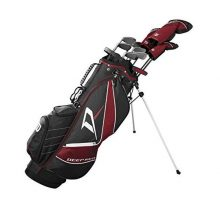 Wilson Staff Deep Red Tour Complete Golf Set Men Right Hand Regular