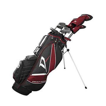 Wilson Staff Deep Red Tour Complete Golf Set Men Right Hand Regular