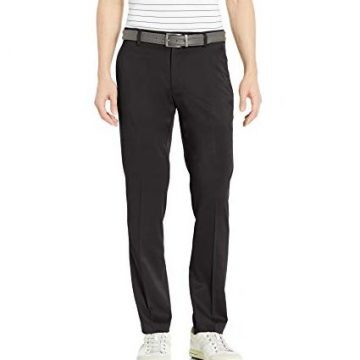 Amazon Essentials Men SlimFit Stretch Golf Pant Black 34W x 32L