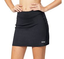 BALEAF Women Active Athletic Skort Lightweight Skirt with Pockets for Running Tennis Golf Workout Black Size M