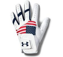 Under Armour Men UA IsoChill Golf Glove Red