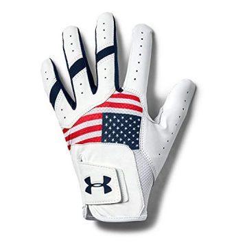 Under Armour Men UA IsoChill Golf Glove Red
