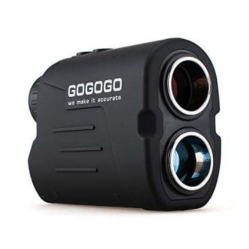 Gogogo Sport Laser Golf Hunting Rangefinder 6X Magnification Clear View 650 900 Yards Laser Range Finder Accurate Range Scan Slope Function PinSeeker & FlagLock EasytoUse Range Finder