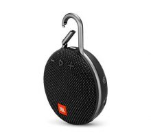 JBL Clip 3 Portable Bluetooth Speaker  Midnight Black