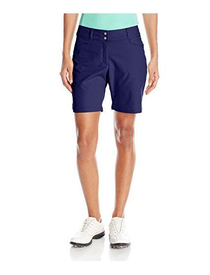 adidas Golf Women Essentials Shorts Night Sky Size 8