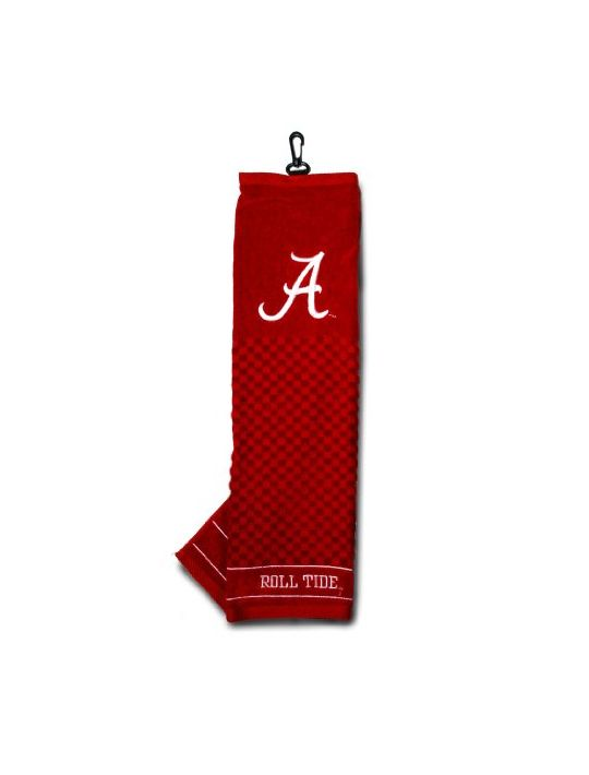 NCAA Alabama Crimson Tide Embroidered Golf Towel
